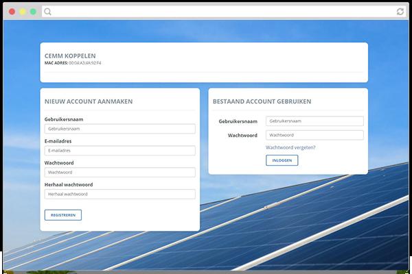 Account aanmaken voor mijn.cemm.nl