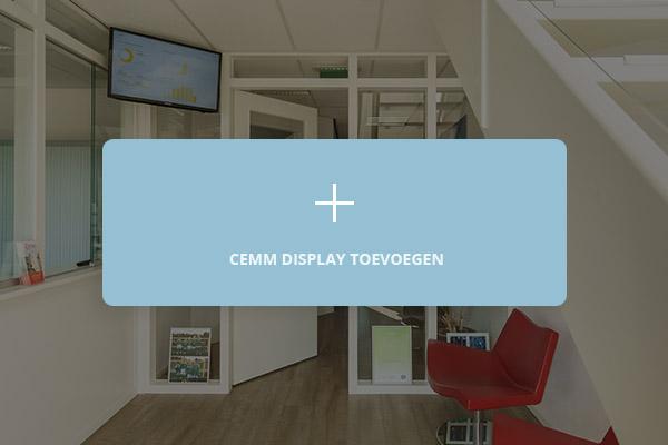 Hoe werkt CEMM display?